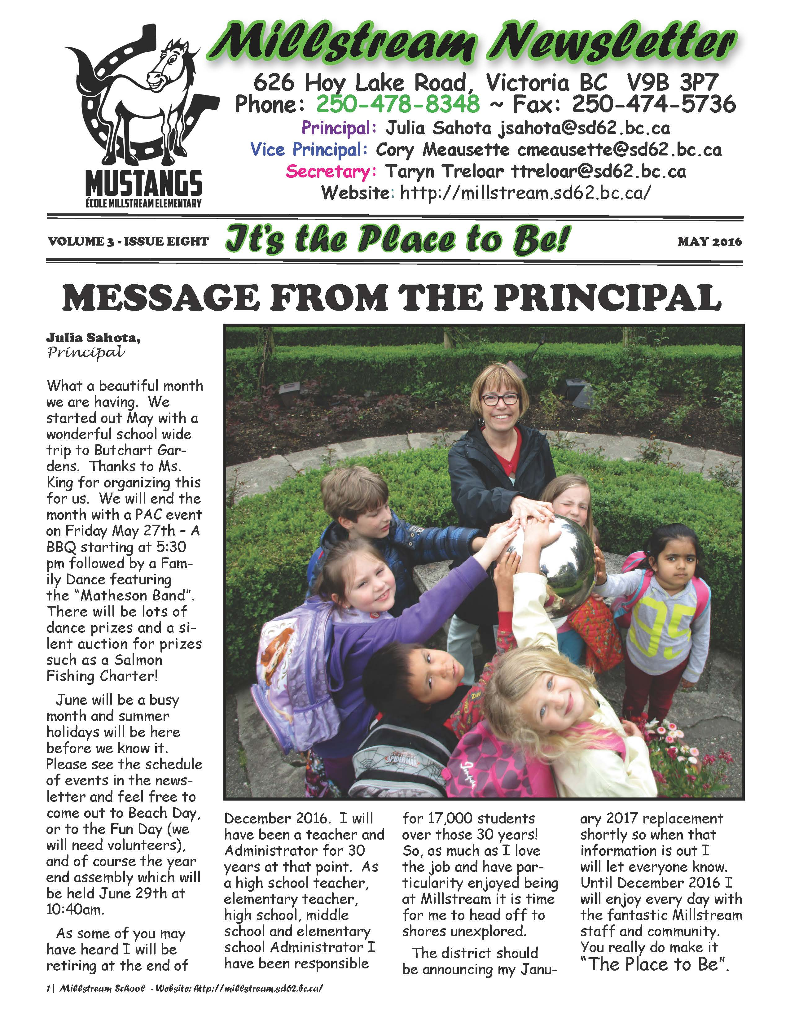 MILLSTREAM NEWSLETTER - MAY_Page_01