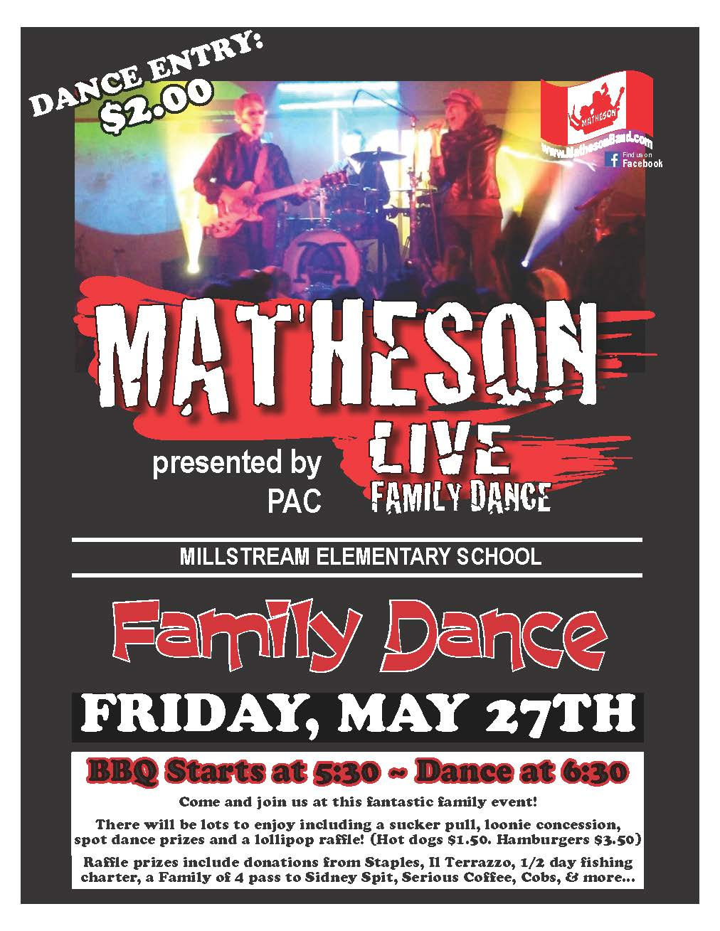 Metheson Live Family Dance - May 27, 2016