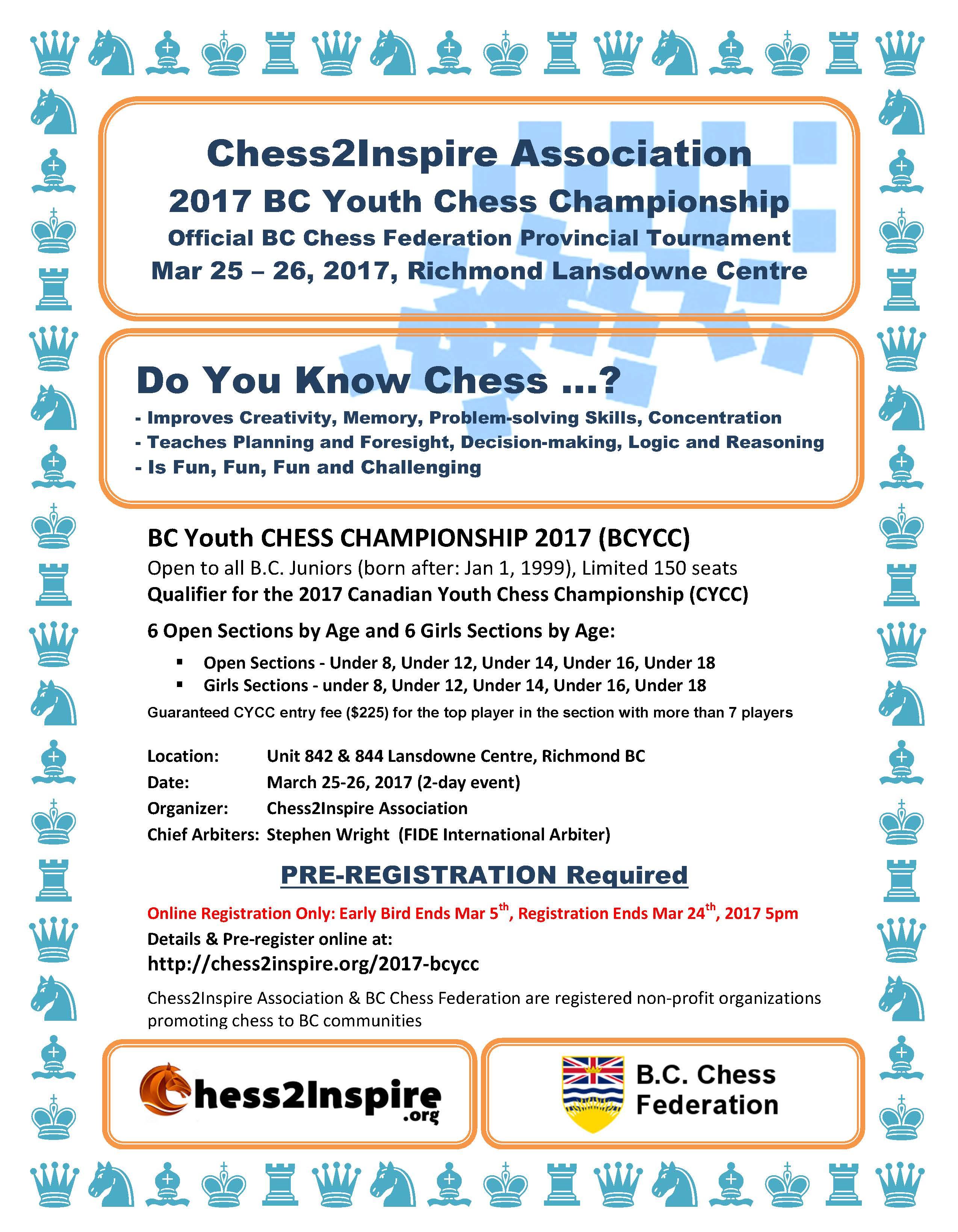 Chess Championship Flyer