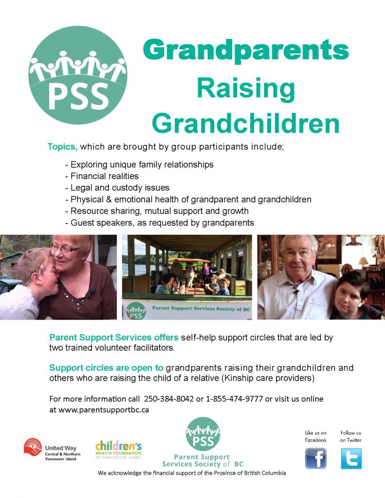 PSS Grandparent Raising Grandchildren Circles Greater Victoria