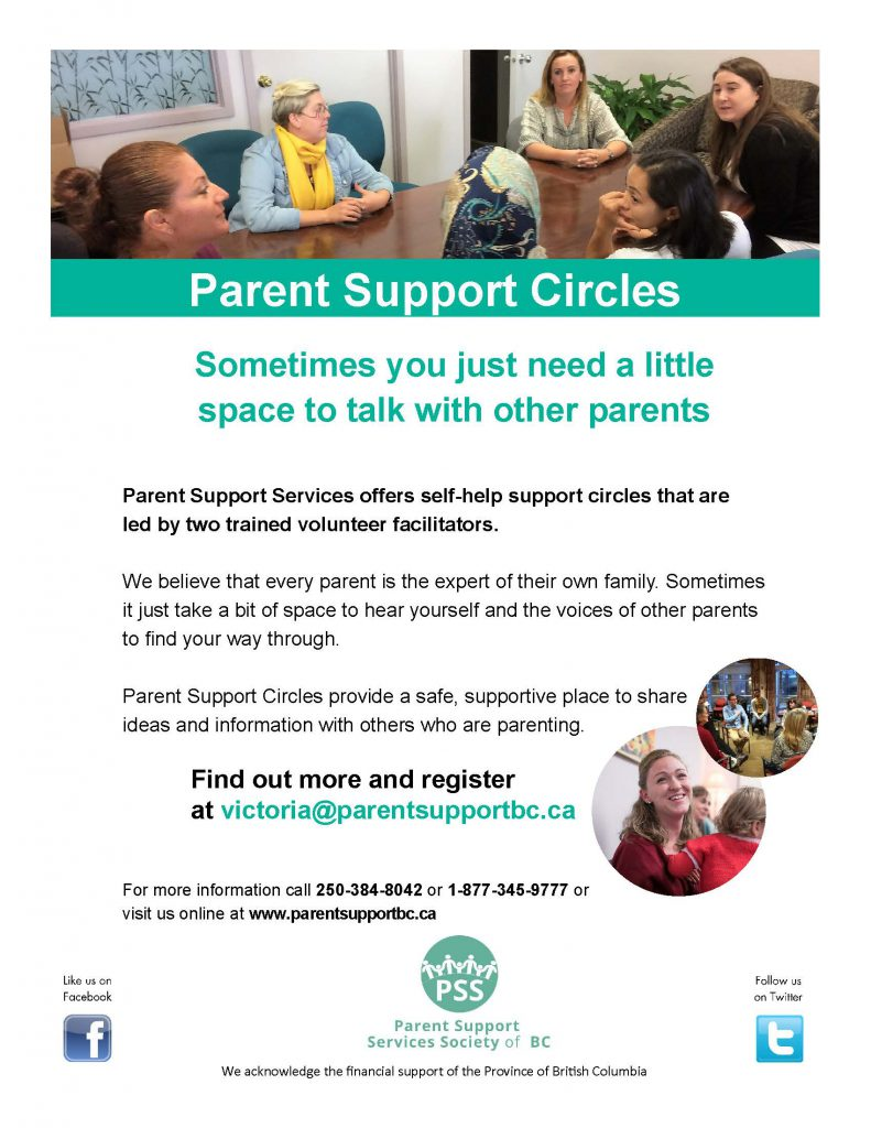 PSS Parent Support Circles Greater Victoria